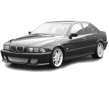 BMW E39 Angel Eyes (2001-2003)